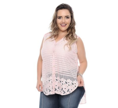 Blusa Plus Size Luisa