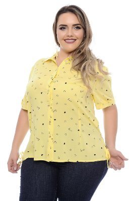 Camisa Plus Size Eliana