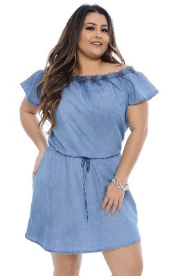 Vestido Plus Size Suzan