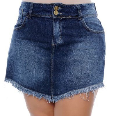 Shorts Saia Plus Size Marina