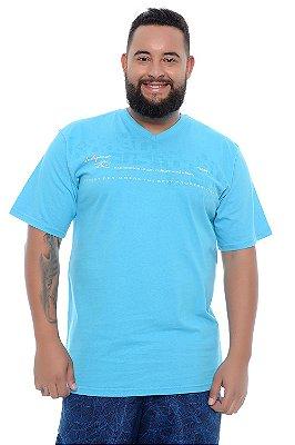 Camiseta Masculina Plus Size Ivan