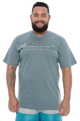 Camiseta Masculina Plus Size Joél