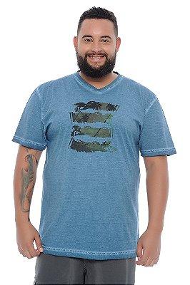 Camiseta Masculina Plus Size Rafael