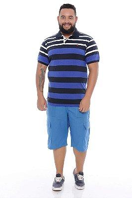 Bermuda Masculina Plus Size Rúpio