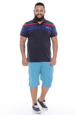 Bermuda Masculina Plus Size Elói