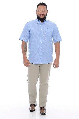 Camisa Masculina Plus Size Leone