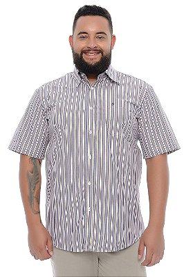 Camisa Masculina Plus Size Marlon