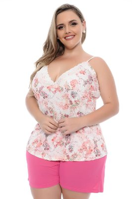 Short Doll Plus Size Floral