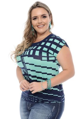 Blusa Plus Size Noemi