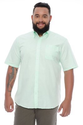 Camisa Masculina Plus Size Angelo