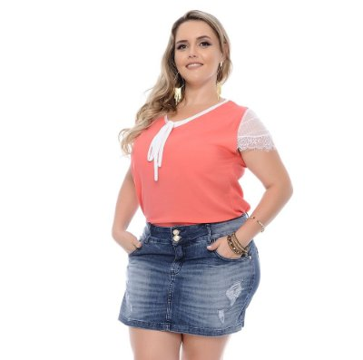 Shorts Saia Plus Size Lexa