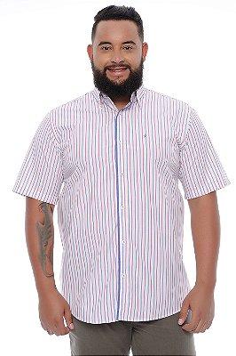 Camisa Masculina Plus Size Iago