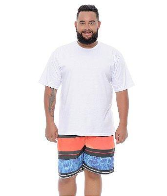 Bermuda Masculina Plus Size Tactel Osmar