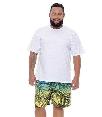 Bermuda Masculina Plus Size Tactel Túlio