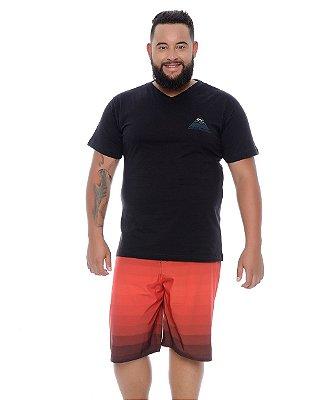 Bermuda Masculina Plus Size Tactel Romano