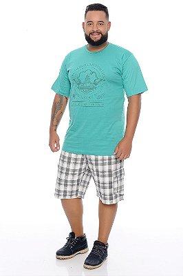 Bermuda Masculina Plus Size Óscar