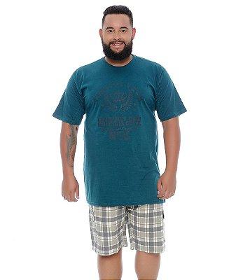 Bermuda Masculina Plus Size Marcelo