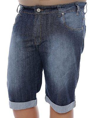 Bermuda Masculina Plus Size Jeans Teodoro