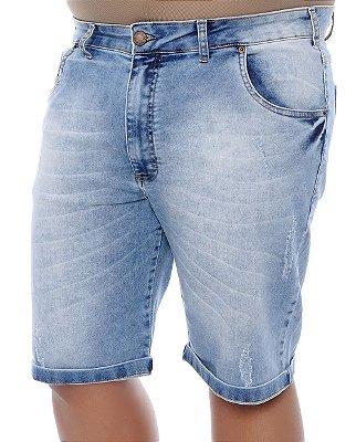 Bermuda Masculina Plus Size Jeans Solano