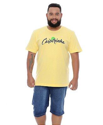 Bermuda Masculina Plus Size Jeans Noé