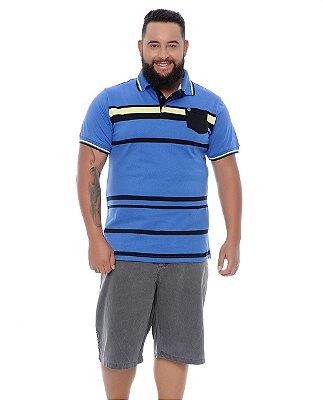 Bermuda Masculina Plus Size Mario