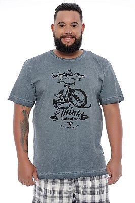 Camiseta Masculina Plus Size Oliver