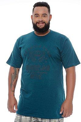 Camiseta Masculina Plus Size Quinn
