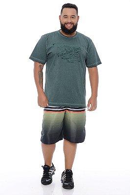 Bermuda Masculina Plus Size Tactel Paulo