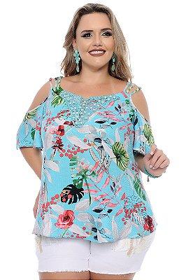Blusa Plus Size Gongora