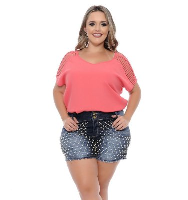 Shorts Plus Size Sia