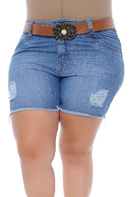 Shorts Plus Size Vanusa