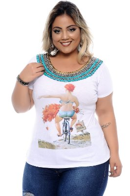 Blusa Plus Size Liberty