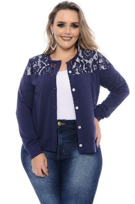 Cardigan Plus Size Yunit