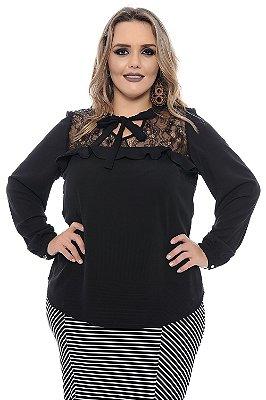 Blusa Plus Size Escarlet