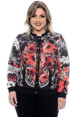 Bomber Plus Size Cassandra Beck