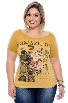 Blusa Plus Size Mandy