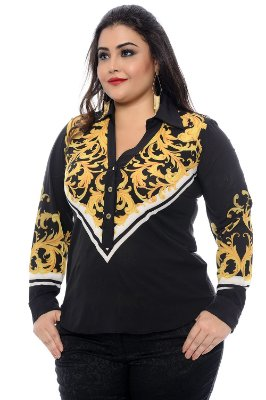 Blusa Plus Size Gloria Gaynor
