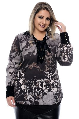 Blusa Plus Size Norah