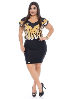Vestido Plus Size Bessie Smith
