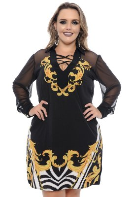 Vestido Plus Size Fran
