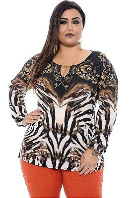 Blusa Plus Size Dianna Ross