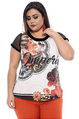 Blusa Plus Size Joni Mitchell