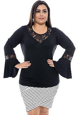 Blusa Plus Size Sophie Milman