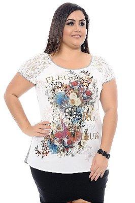 Blusa Plus Size Sawa