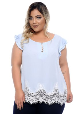 Blusa Plus Size Ingridi