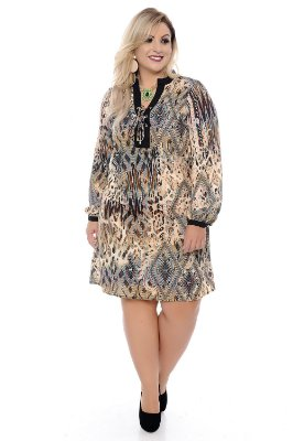 Vestido Plus Size Lange