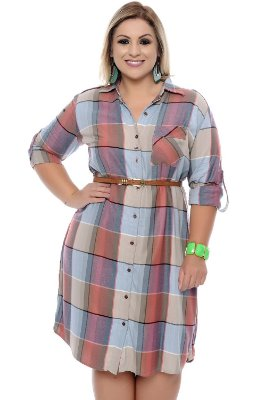 Vestido Plus Size Marie