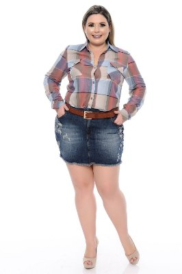 Camisa Plus Size Cardinale