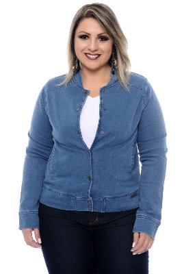 Bomber Jeans Plus Size Isabelle