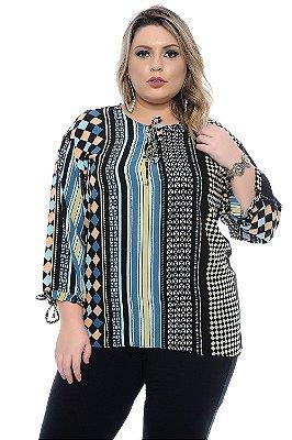 Blusa Plus Size Collins